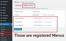 Create Custom Multiple Menus in WordPress [Without Plugin]