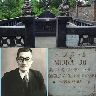 Miura Jo, Pejuang Bali Asal Jepang