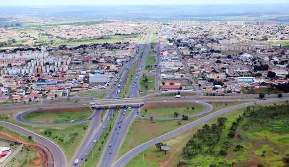 Valparaíso de Goiás é a décima terceira maior cidade do Centro Oeste em 2016