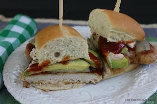 Southern Grilled Pork Loin Sandwich