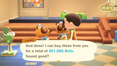 Selling Turnips On Animal Crossing: New Horizons Week 7