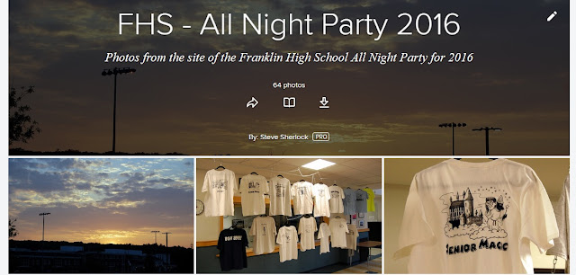 photos from the FHS All Night Party 2016