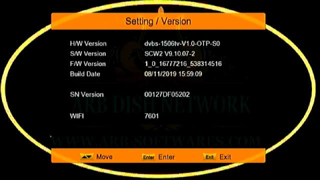 SUPERMAX GOLD 1506TV 512 4M SCW2 8 NOV 2019