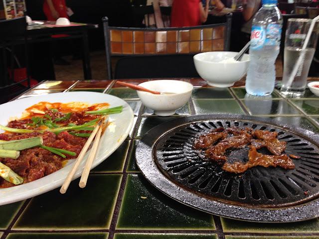 Barbecue à Ho Chi Minh