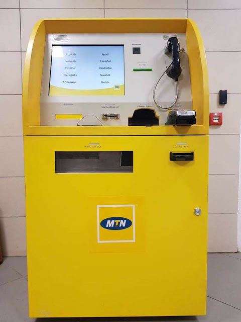 mtn mobile money Atm machine Cameroon Ghana nigeria uganda
