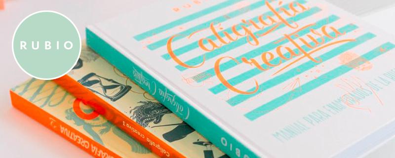 Cuadernillos Rubio, caligrafía y lettering para adultos