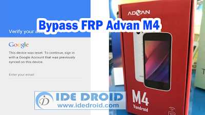 Bypass FRP Advan M4 Google Account Gratis Via Spflashtool 100% Work
