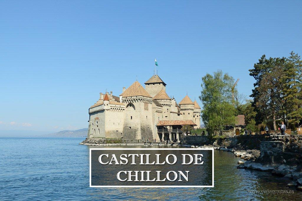 Castillo de Chillon, joya suiza en el lago Lemán