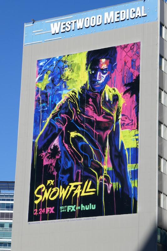Giant Snowfall season 4 billboard