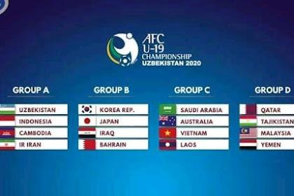 Hak Siar AFC U 19 Uzbekistan 2020 di Indonesia
