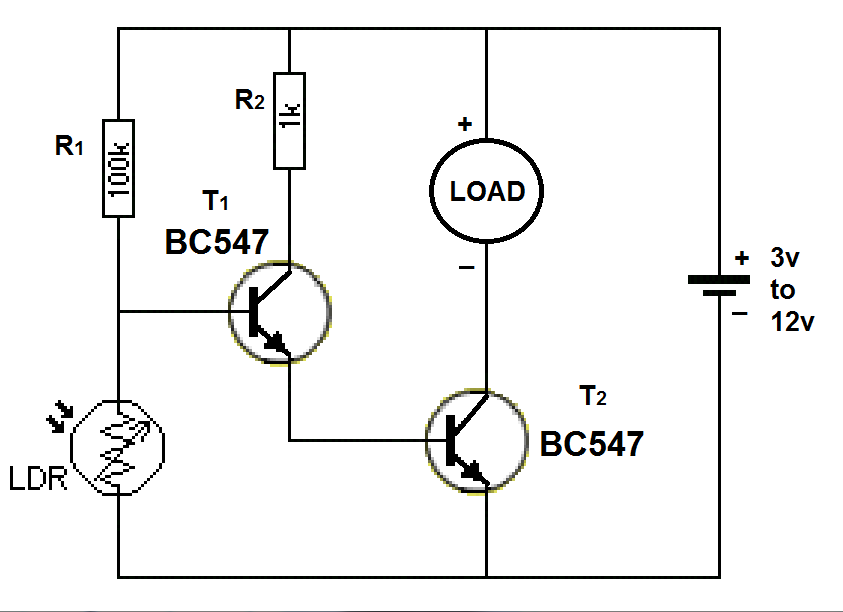 Automatic DC light switch HP PHOTOSMART PRINTER