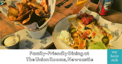 Family-Friendly Dining at The Union Rooms, Newcastle (AD/Review)