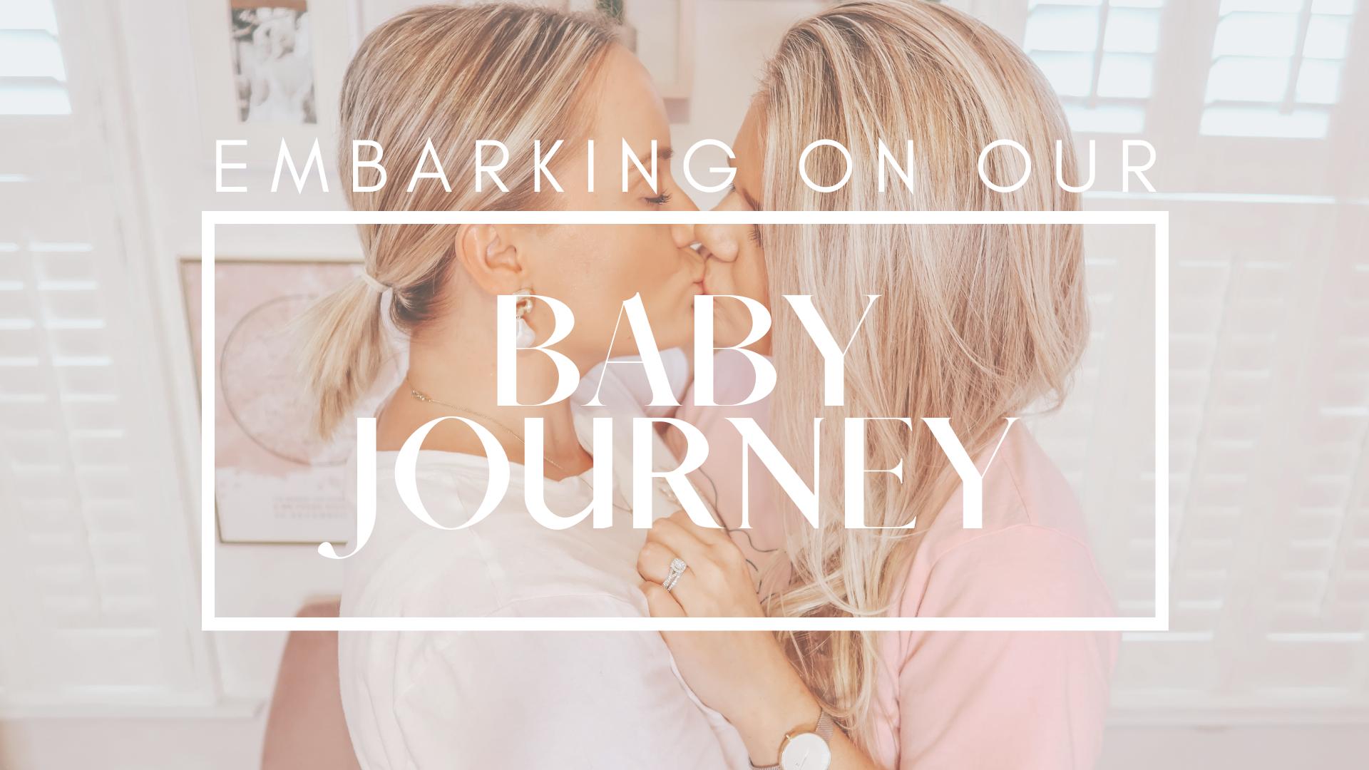 lesbian couple baby journey