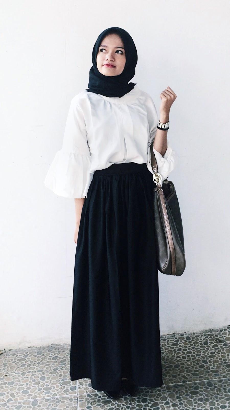 wallpaper hijab cantik hitam cantik dan imut