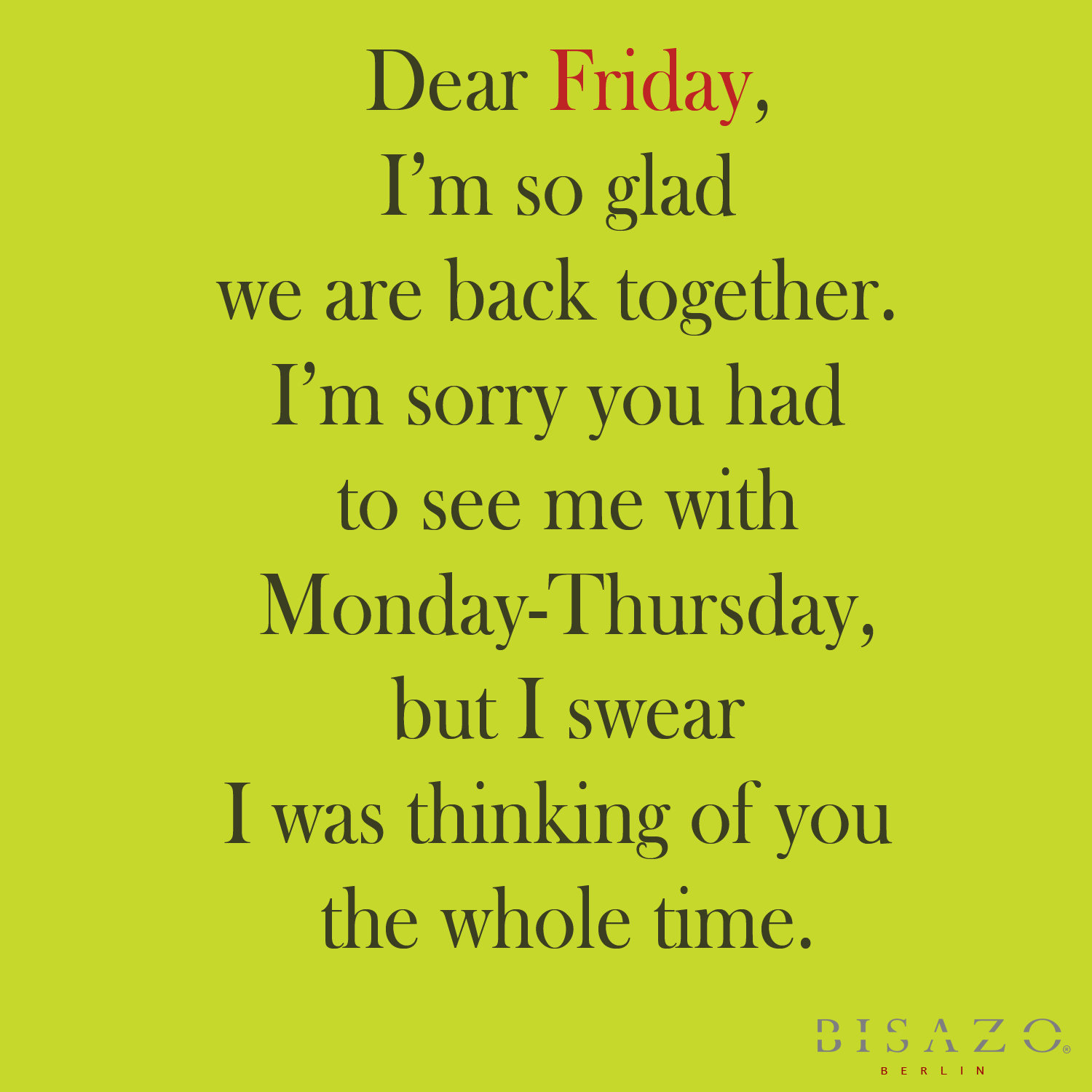 Funny Friday Quotes: This Is My Faster!: Friday Favorites