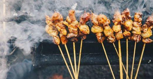 cara membuat sate ayam, bumbu sate ayam, sate ayam bakar