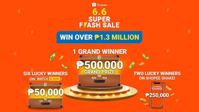 6 Reasons Why Shoppers Should Look Forward to  Shopee 6.6 Super Flash Sale