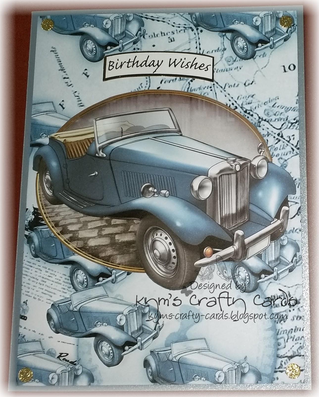 Kym S Crafty Cards Male Birthday Cards