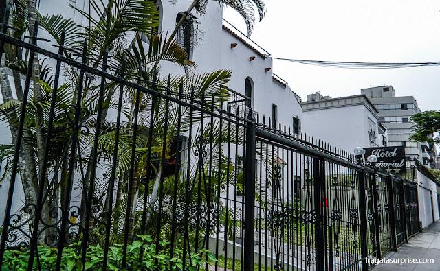 Fachada do Hotel Señorial, Miraflores, Lima