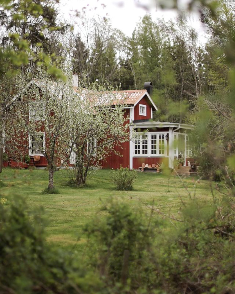A Traditional Swedish Summer Cottage, Enjoyed as a Year-Round Home