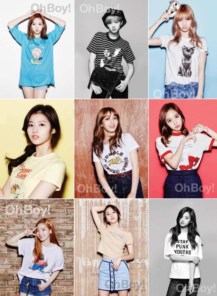 Twice Korean Girl Group