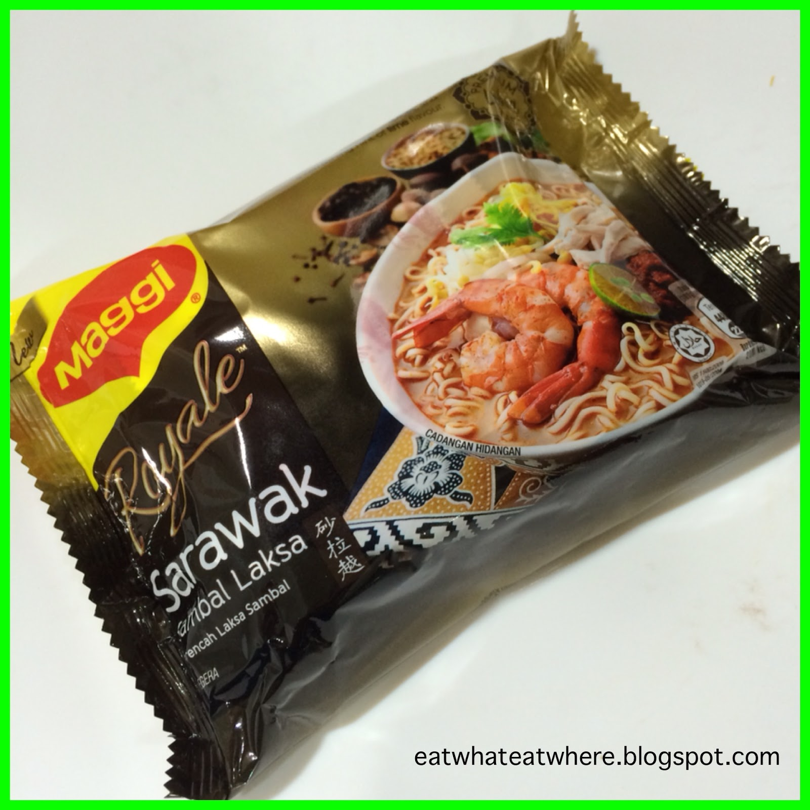 Now That We Know What A Real Sarawak Laksa Looks Like Let S Have Go At Maggi Instant Version The Sambal