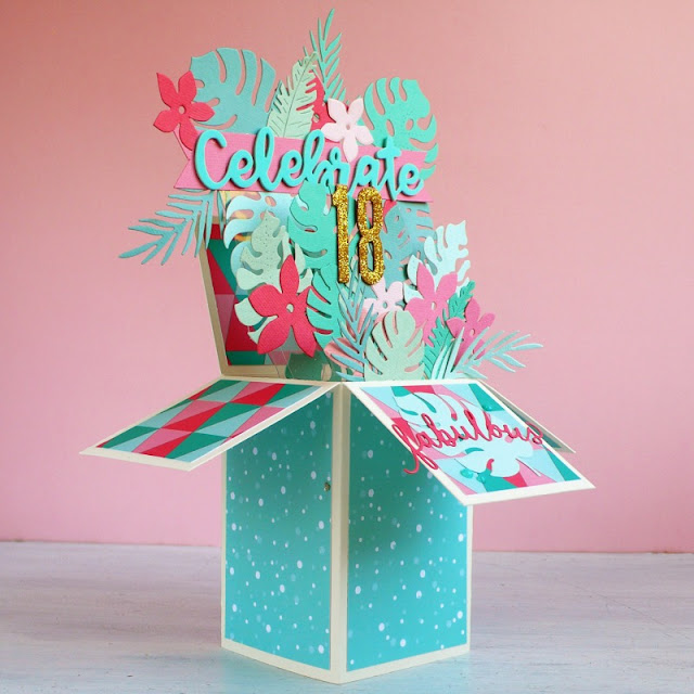 Card in a box versione tropicale