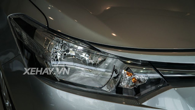vios 15e cvt 5 - Cận cảnh Toyota Vios 1.5E CVT mới ra mắt Việt Nam