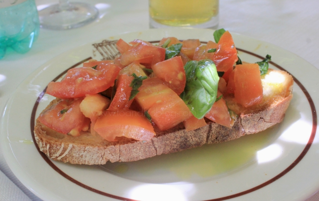 things to do in Rome; food of Italy