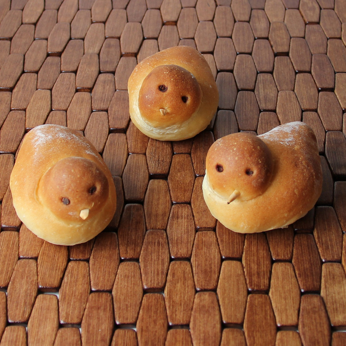 Cookistry Birdie Bread adorable buns shaped like little