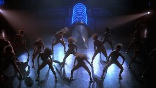 Baile presentación show The Running Man