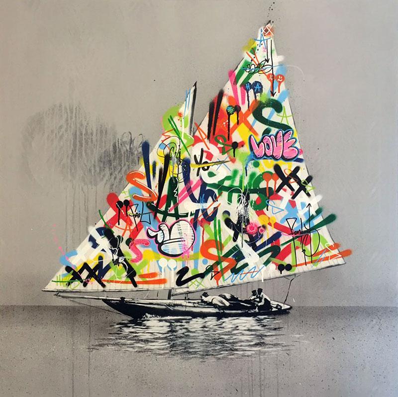Stencil Art By Martin Whatson