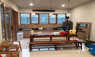 Tempat masak,santai dan tempat makan