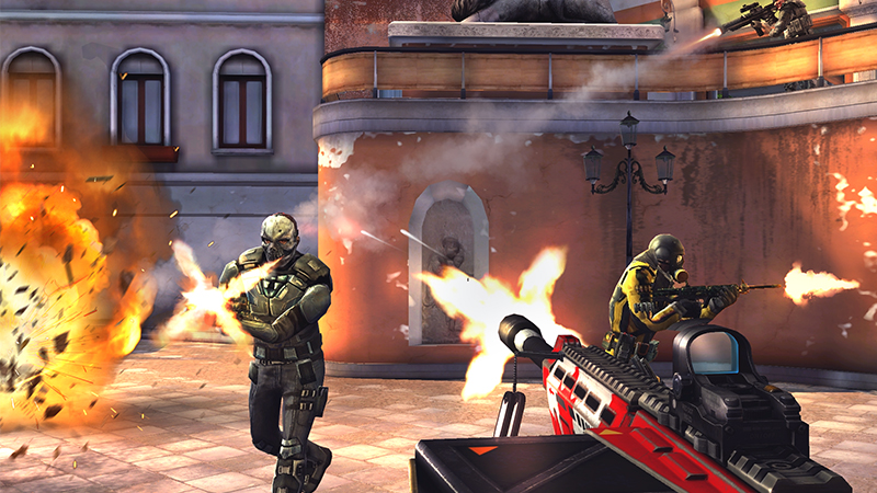 modern combat 5 mod apk unlimited money and gold latest version
