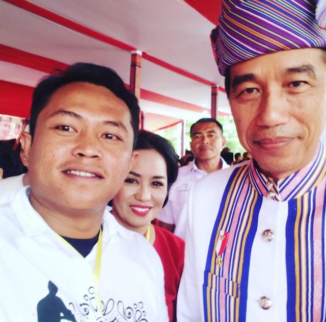 Ketua Relawan Youngcelebes JKW2P Sebut Jokowi Seperti Magnet Bagi Sangtorayan