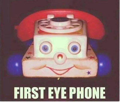 Remember the first eye phone
