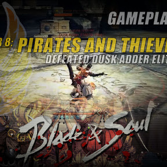 Blade And Soul ★ Chapter 8: Pirates and Thieves ☆ Defeated Dusk Adder Elite Su Hwan