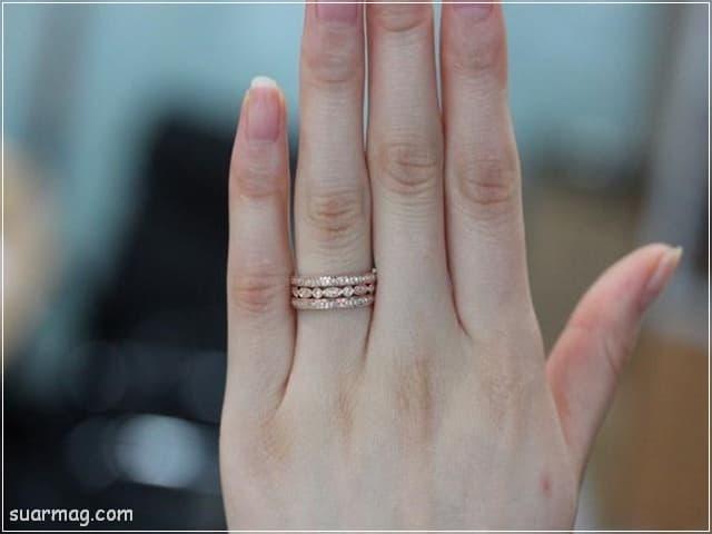 اشكال محابس ذهب 8   Gold Engagement Rings Forms 8
