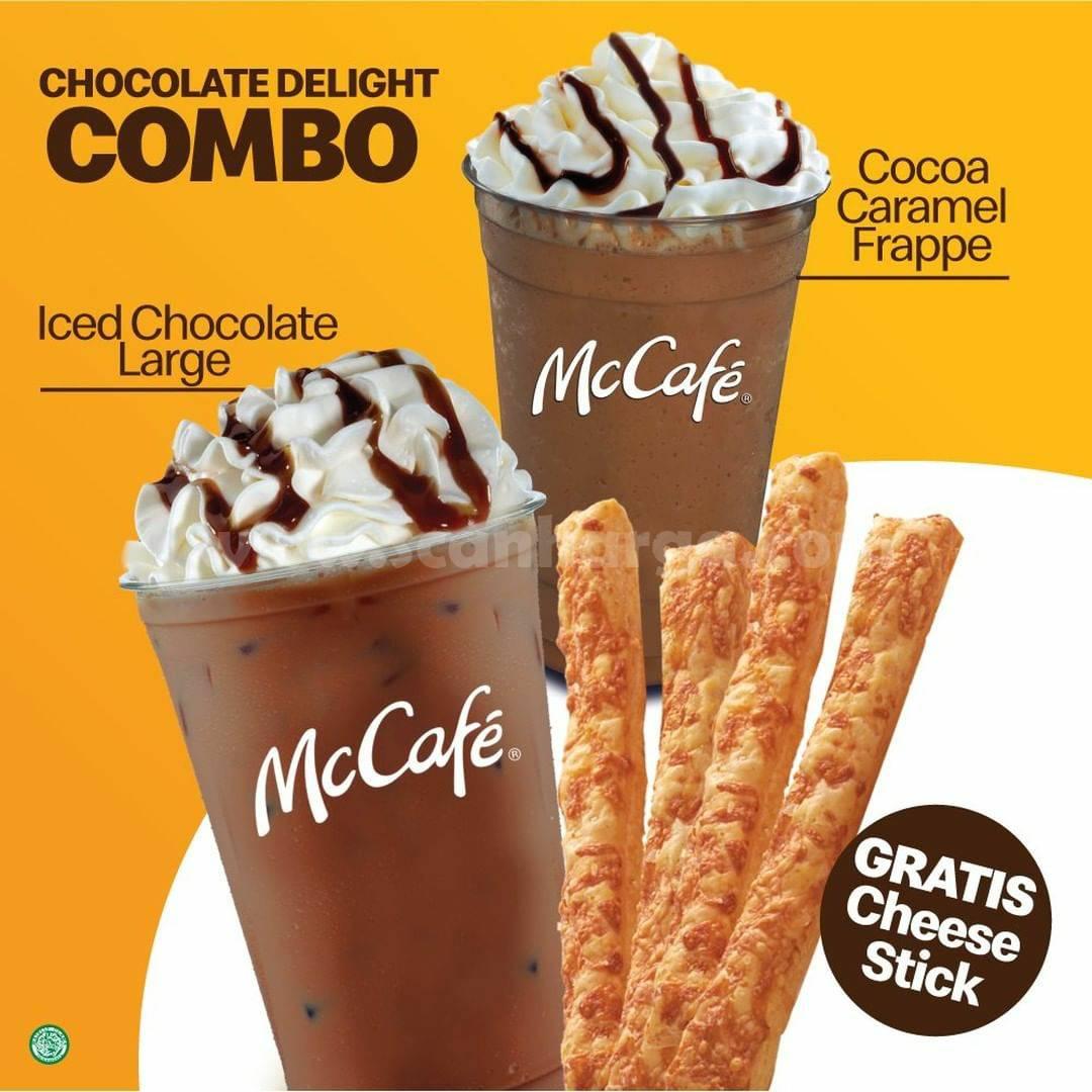 Promo McDonalds GRATIS Cheese Stick di McCafe