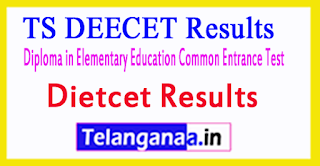 TS DEECET Results Telangana DIETCET Results 2017