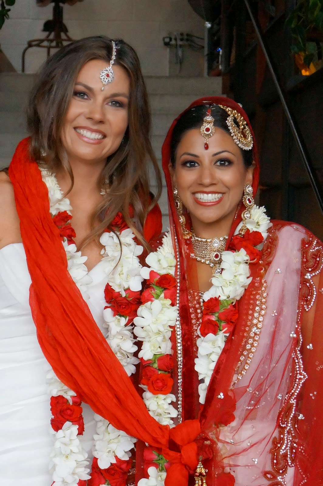 Beautiful Indian Lesbian Wedding Of Seema & Shannon