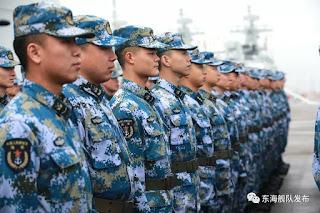 Tripulación de corbetas 056/056A de la Flota del Este