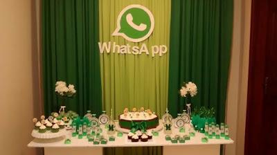 Resultado de imagem para festa de aniversario tema whatsapp