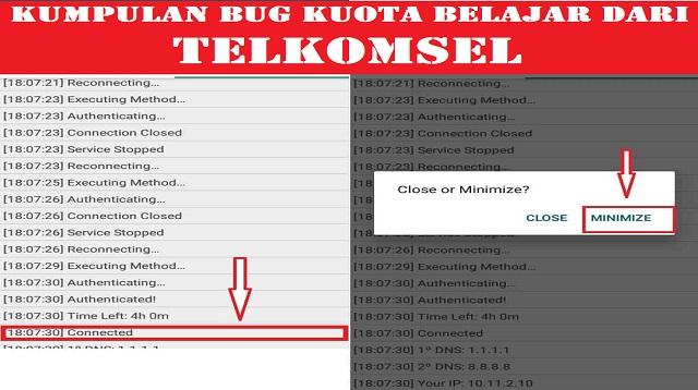 Bug Kuota Belajar Telkomsel