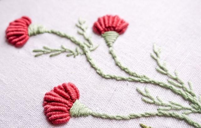 Mẫu thêu hoa nhí đẹp - Hinh 3