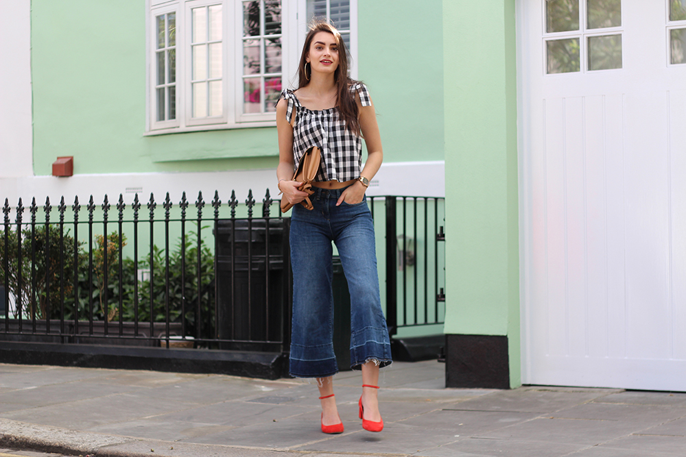 peexo gingham spring style