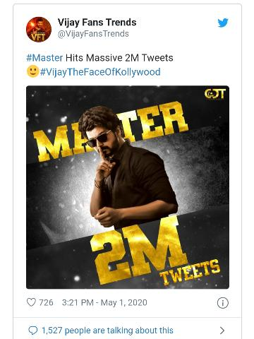 Vijay  master movie 2020 release