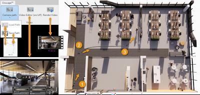 从Enscape中的单个位置对一天中的时间进行动画处理插图