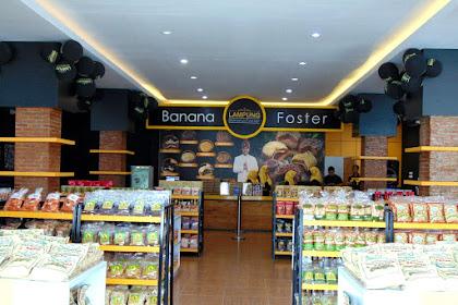 Banana Foster Lampung - Pusatnya Oleh-oleh Khas Lampung