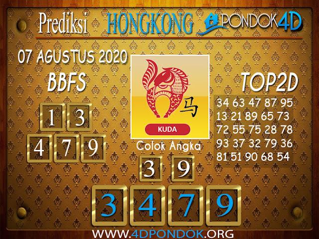 Prediksi Togel HONGKONG PONDOK4D 07 AGUSTUS 2020